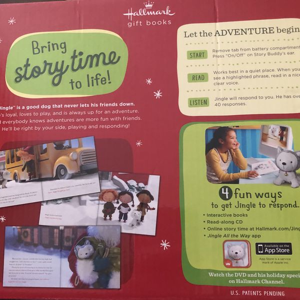 Jingle all the way interactive story buddy