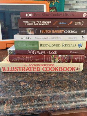 Cookbook bundle for Sale in Burlington, NJ