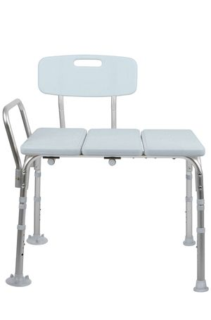 Medline Microban Medical Transfer Bench with Antimicrobial Protection for Bath Safety, Shower Use, and Bacterial Protection Medline Microban Medical for Sale in Rialto, CA