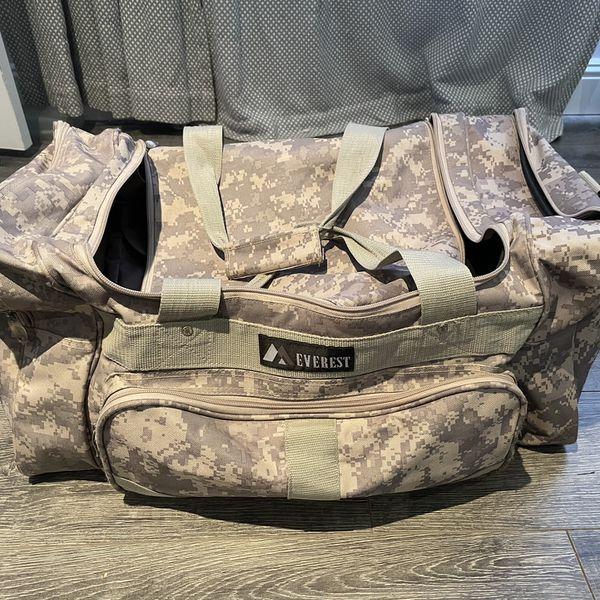 Everest Duffle Bag Camouflage