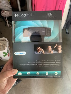 never opened logitech webcam video hd for Sale in Phoenix, AZ