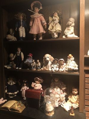 Antique figurines vintage dolls and more for Sale in Cherry Hill, NJ