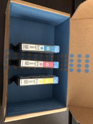 HP 902 3-Pack Ink Cartridge - Cyan/Magenta/Yellow for Sale in Mills River, NC