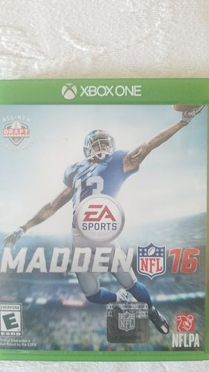 Madden NFL 16 for Sale in Hayward, CA
