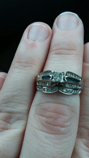 Wedding and engagement ring attached for Sale in Davenport, IA