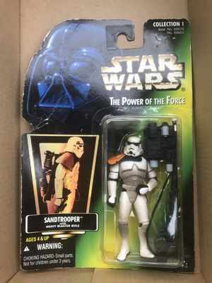StarWars NEW 1996 Collectable SandTrooper for Sale in Fresno, CA