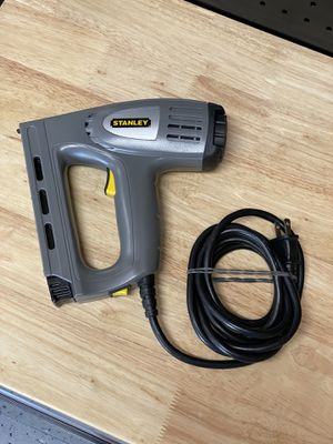 """Stanley TRE550 - Corded Crown Stapler (1/4- 5/16"""") / 18ga Brad Nailer (1/2-5/8"""") for Sale in West Chicago, IL"""