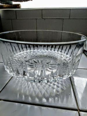 Vintage Arcoroc France Cut Crystal bowl for Sale in Norwalk, CA