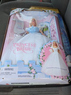 Princess bride Barbie new in box dated 2000 make offer for Sale in Independence, OH