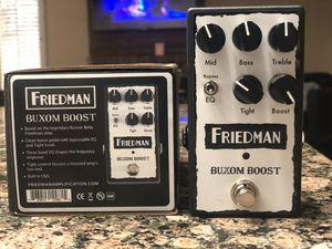 Friedman Buxom Boost guitar pedal for Sale in Clovis, CA