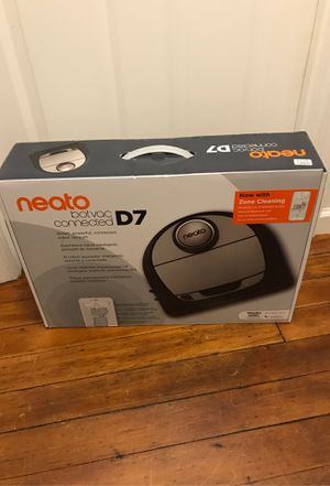 Neato D7 botvac connect new in box with zone cleaning for Sale in Sumner, WA