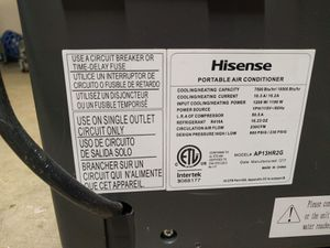 Hisense portable air conditioner with remote control for Sale in Nashville, TN