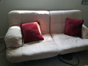 Suede Sofa/Bed for Sale in Salt Lake City, UT