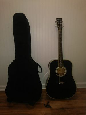 Guitar, Case with straps, Capo for Sale in Apex, NC