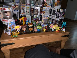 Toy story funko pop figures for Sale in Chicago, IL
