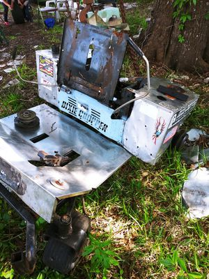 Hole and parts for dixie chopper for Sale in Lakeland, FL