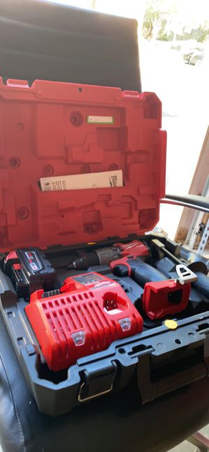 1/2 Hammer Drill/Driver M18 Fuel W/ XC 3.0 Battery & M12/M18 Charger for Sale in Raleigh, NC