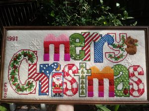 Merry Christmas Needlepoint for Sale in Largo, FL