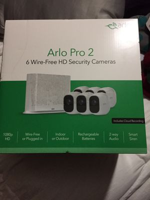 Arlo pro 2. 6 camera security system for Sale in Oakland, CA