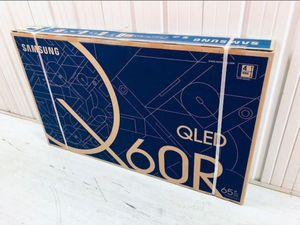 "65"" SAMSUNG QN65Q60R QLED 4K SMART TV 240 MR 2160P *FREE DELIVERY* for Sale in Steilacoom, WA"