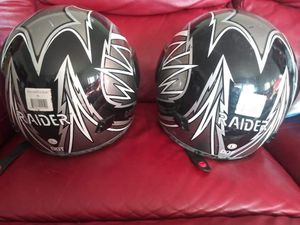 Raider power sport helments for Sale in Waterloo, IA