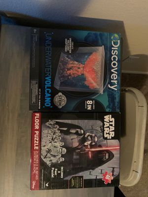 Discovery underwater volcano or Star Wars 46 price floor puzzle for Sale in Mesa, AZ