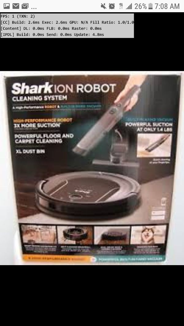 Shark Ion S87 Robot vaccuum NEW