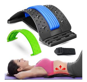 Lower Back Massager Lumbar Support - Adjustable Multi-Level Spine Deck Back Stretcher for Pain Relief for Sale in Travelers Rest, SC