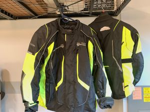TourMaster HiViz Motorcycle Jacket Set M-2XL W-L for Sale in Maple Valley, WA