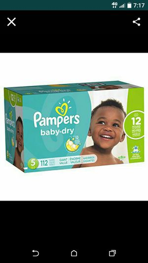 Pampers diapers size 2,3,4,5,6 for Sale in Vancouver, WA