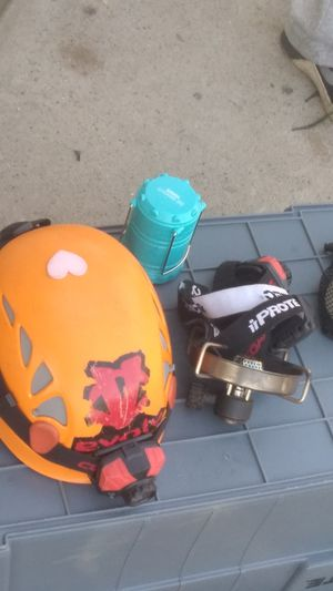 Climbing gear from helmets to ropes for Sale in Fresno, CA