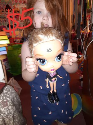 Doll.rolls eyes.has 5 different eye roll designs good condition for Sale in Saint Thomas, PA