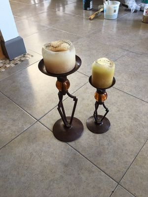 Candle Holder Set Like New Condition for Sale in Chino, CA