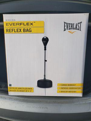 Reflex speed boxing everlast everflex bag for Sale in Long Beach, CA