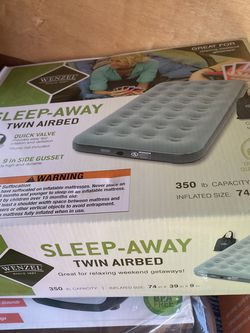 Wenzel Twin Air Mattress for Sale in San Diego,  CA