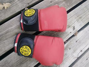 Gold gym bag gloves for Sale in Joliet, IL
