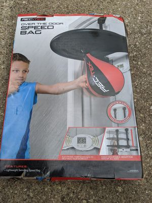 Boxing speed bag for Sale in Elgin, IL