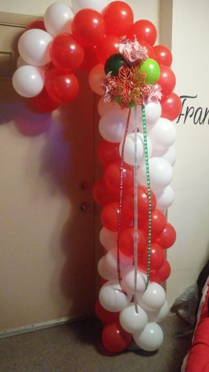 Handmade Balloon Candycane!! for Sale in Harrisburg, PA
