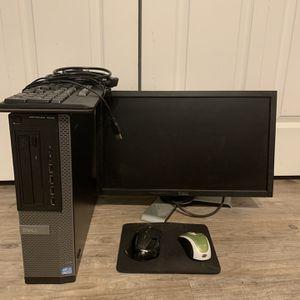 Dell Computer + Monitor for Sale in Irvine, CA