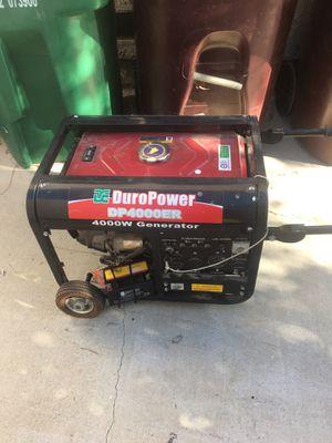 Euro power 4000 generator for Sale in Moreno Valley, CA