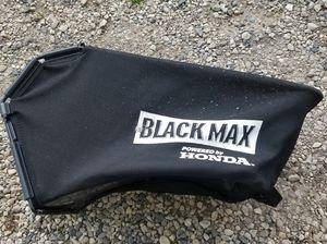 Honda Black Max Lawn Mower Bag for Sale in Johnsburg, IL
