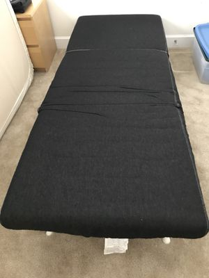 IKEA XL Futon bed , like new, convertible and portable for Sale in Manassas, VA