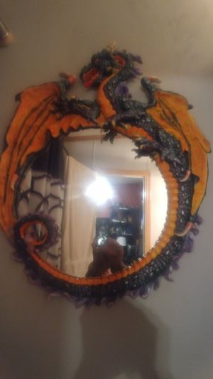Big dragon mirror for Sale in Amherst, VA