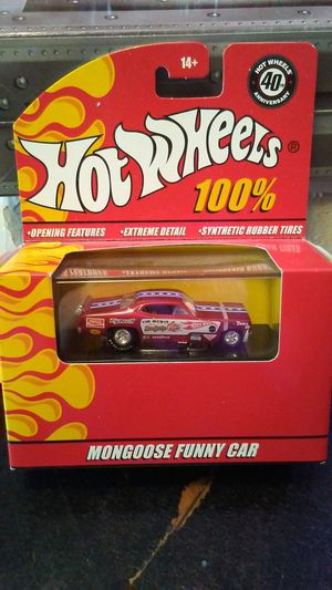 Hot Wheels Mongoose funny car for Sale in Oklahoma City, OK