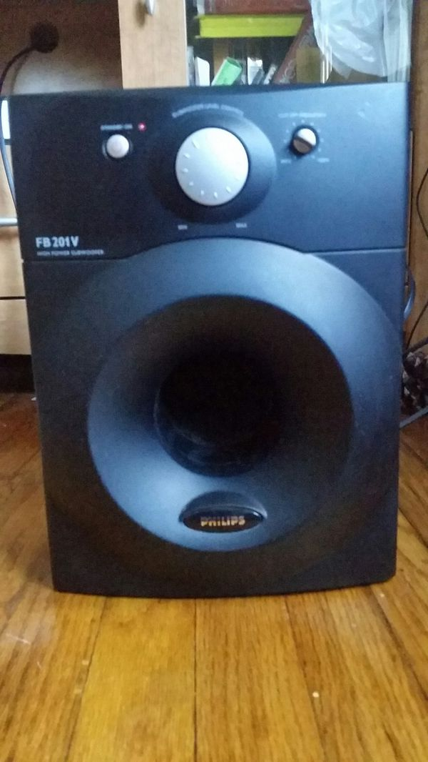 Philips Home Theater Powered Subwoofer