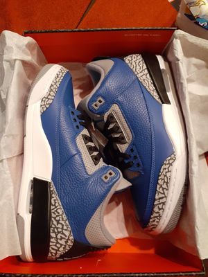 Jordan 3 Retro Varsity Royal Blue Cement - Size 10 for Sale in Pleasanton, CA