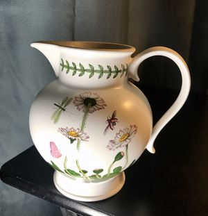 Portmeirion floral pitcher, The Botanic Garden for Sale in Leesburg, VA