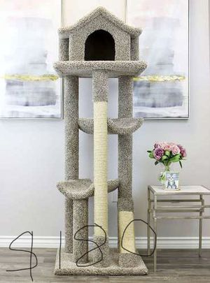Big pagoda house Cat trees/ cat stand triple perch/ cat house/ cat condos for Sale in Phoenix, AZ