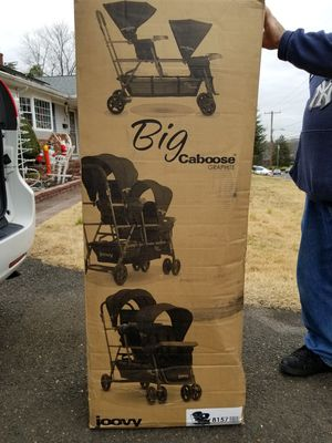 Joovy Big Caboose double stroller for Sale in Howell, NJ
