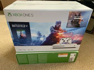 Brand new XBox One S Battlefield V Edition for Sale in Cypress, TX